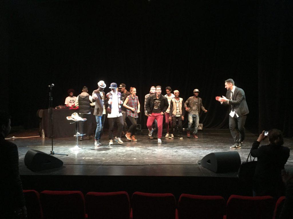 The Syrian American Hip Hop artist Omar Offendum
